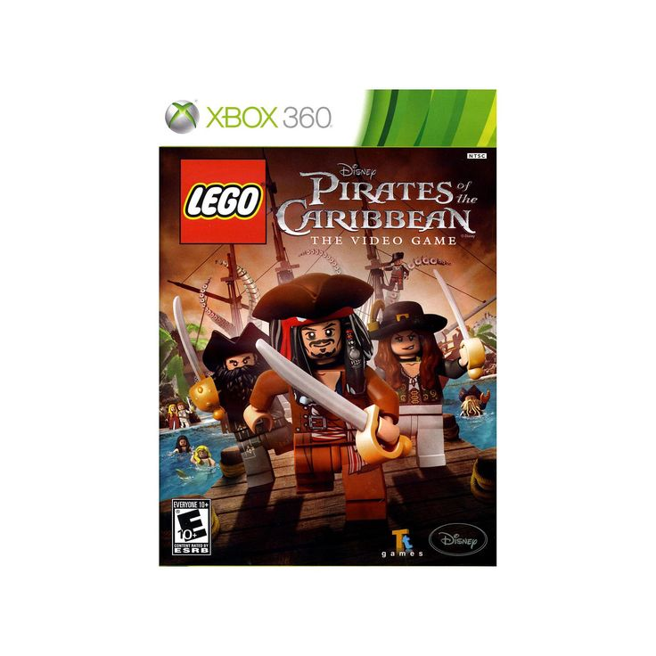 LEGO Pirates of the Caribbean for Xbox 360, Multicolor