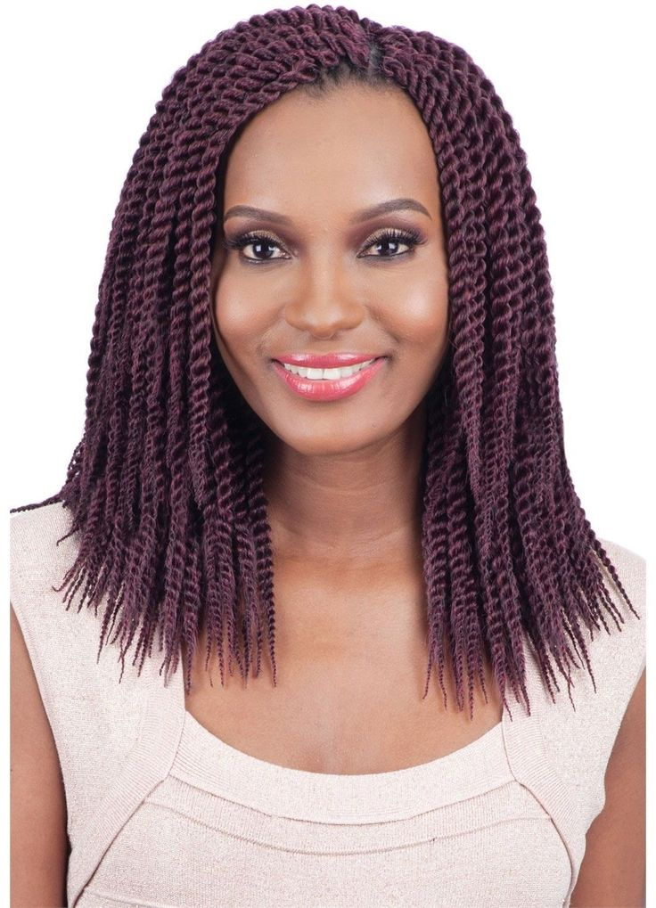 Model Model Glance Crochet Braid SENEGALESE TWIST LARGE 10