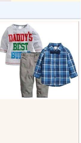 momsneed'shop: Setelan baju anak - Daddy best set
