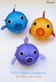 fish crafts for older kids - Google Search