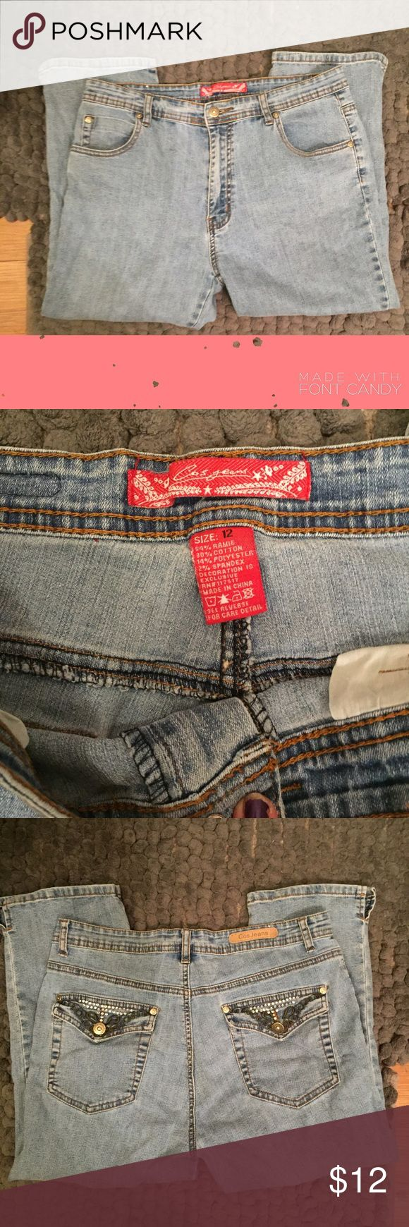 Cos Jeans Women's Cos Jeans in size 12 in good condition and no flaws! Jeans Boot Cut