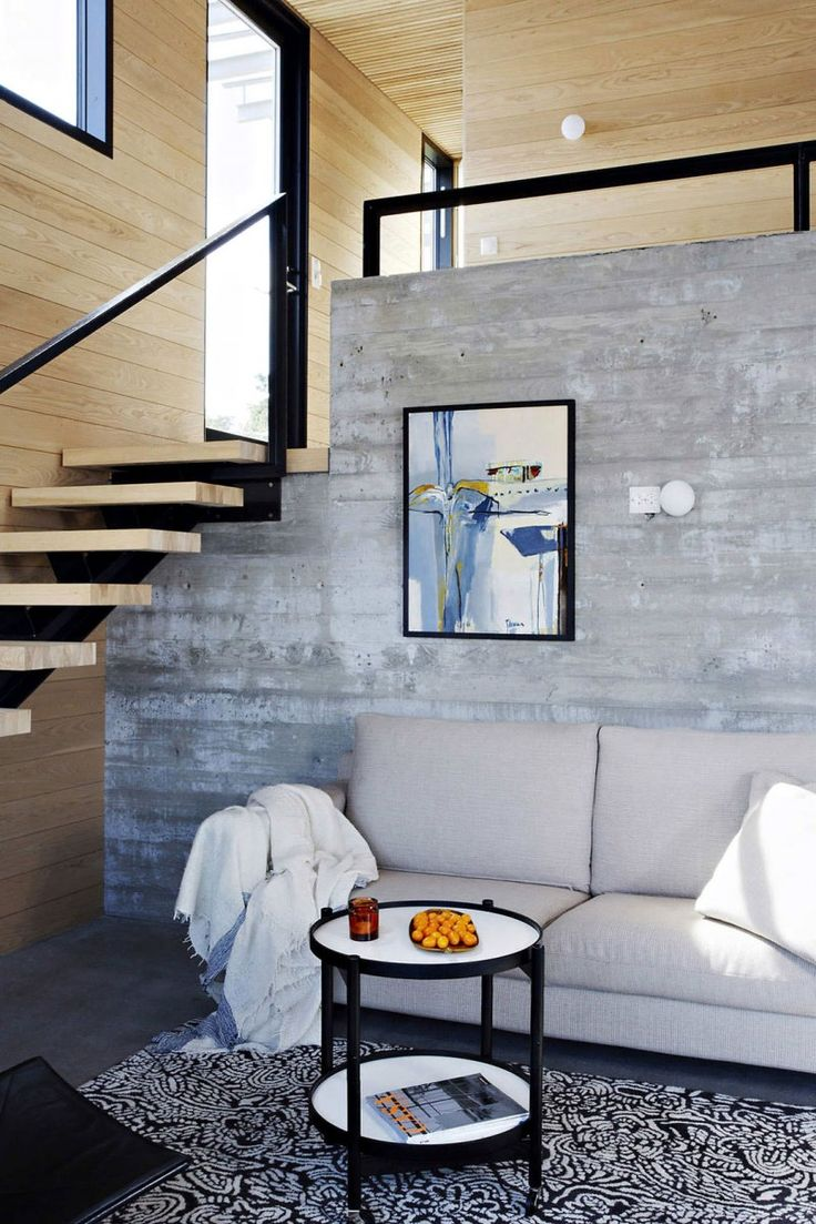 Exposed Concrete Walls Ideas Inspiration: 109 Best STAIRS Images On Pinterest