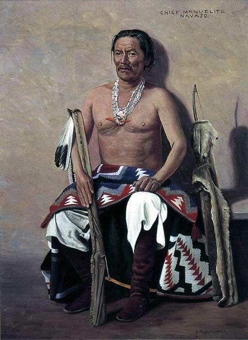 Manuelito navajo | Manuelito Navajo leader and influential chief