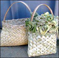 NZ flax weaving blog » Blog Archive » Flax butt handles
