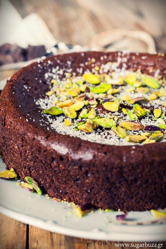 Sugar Buzz: Σοκολατένιο κέικ ζουμερό, χωρίς ζάχαρη - με Sweete stevia