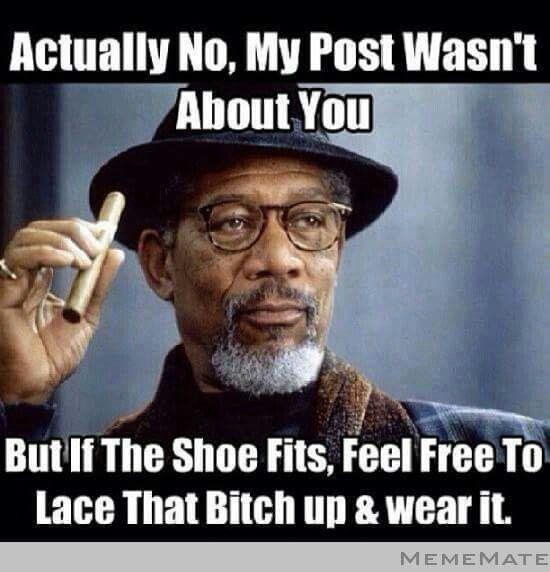 I love Morgan Freeman!