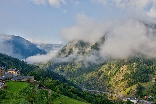 Nuages à Prats, Canillo   Andorra