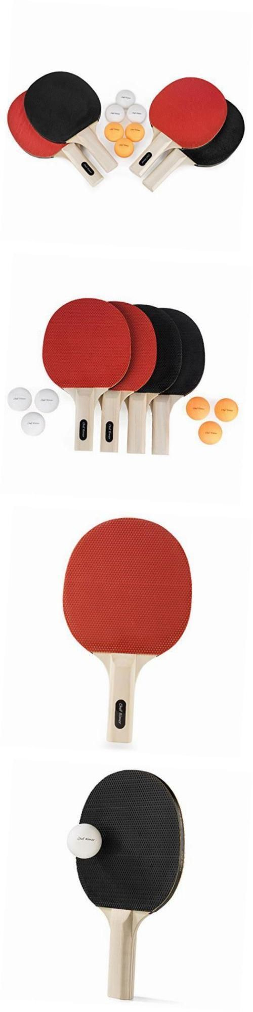Sets 158955: Table Tennis Set 4 Player Lightweight Ping Pong Paddles Premium Rubber Rackets -> BUY IT NOW ONLY: $41.69 on eBay!