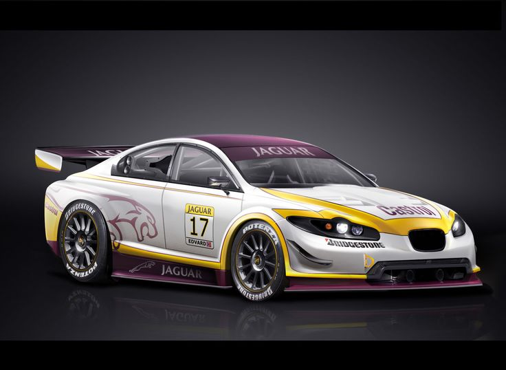 Jaguar Xf R Race Car My Favourite Automobiles Pinterest