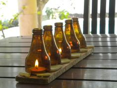 beer themed centerpieces - Google Search                                                                                                                                                                                 More