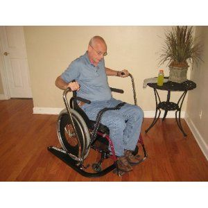 Wheelchair Accessible Rowing Machine