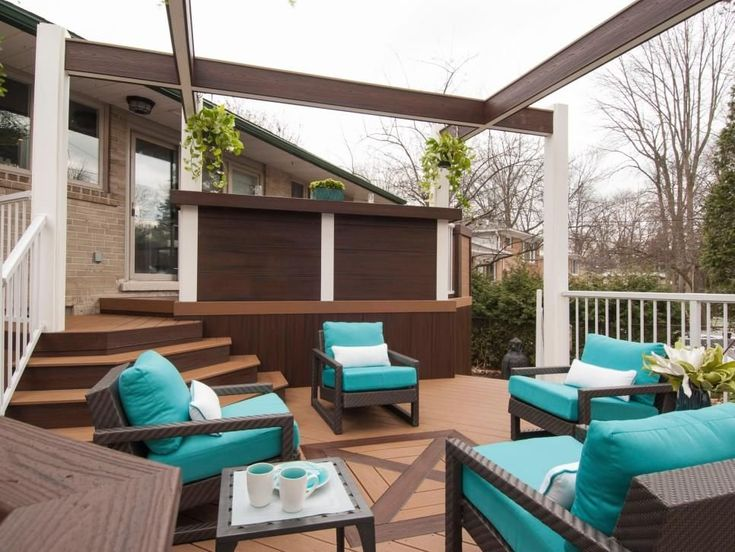 Before and After Deck and Patio Makeovers | 1000 in 2020 ...