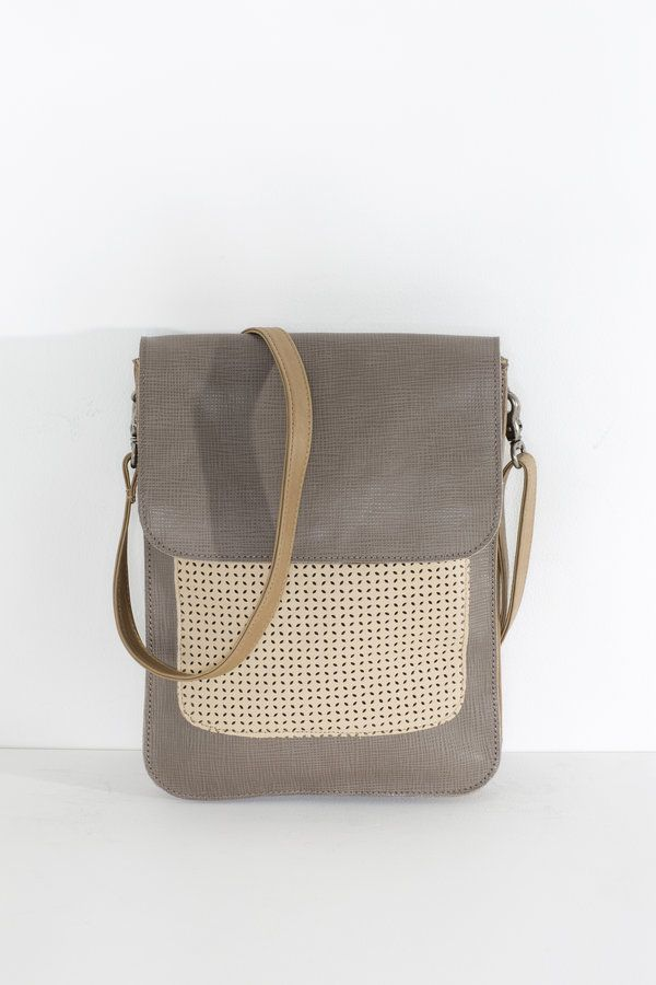 A popular small satchel style, perfect for carrying your iPad and small essentials  two internal sections front pocket secure magnetic closure inside...