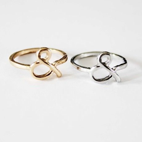 8 ring,cheap fashion mini infinity ring ( one pcs price),only $0.99 shop at www.favorwe.com