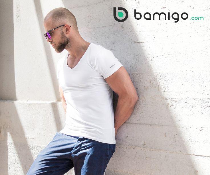 Have you ever tried our white Bamigo bamboe Slim Fit T-shirt? Check out www.bamigo.com