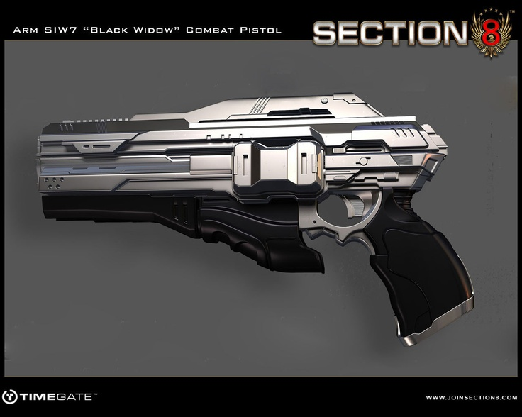 Future Technology Weapons Handgun detaili...