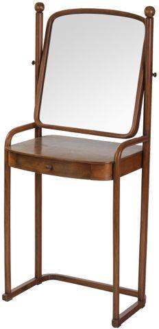 Hoffmann Josef, J. & J. Kohn   Toaletní stolek No. 1134   Aukce obrazů, starožitností   Aukční dům Sýpka