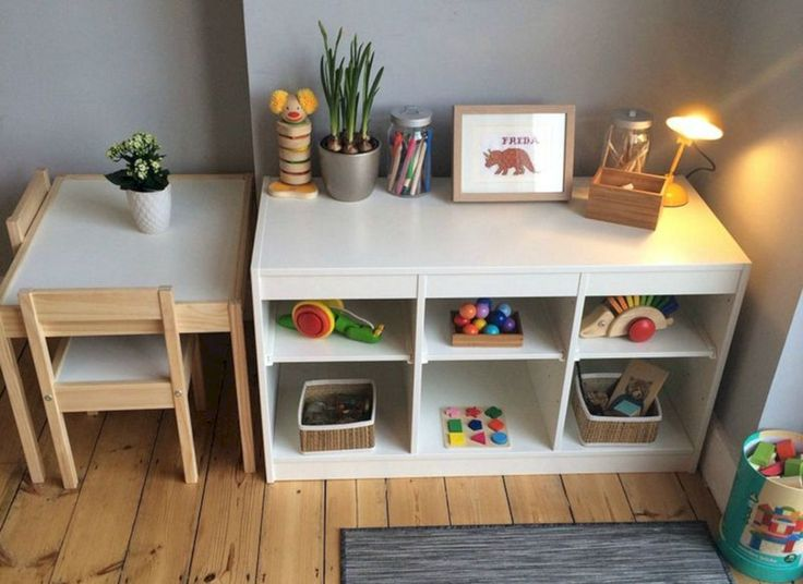55 Best Montessori Bedroom Design For Happy Kids 0046