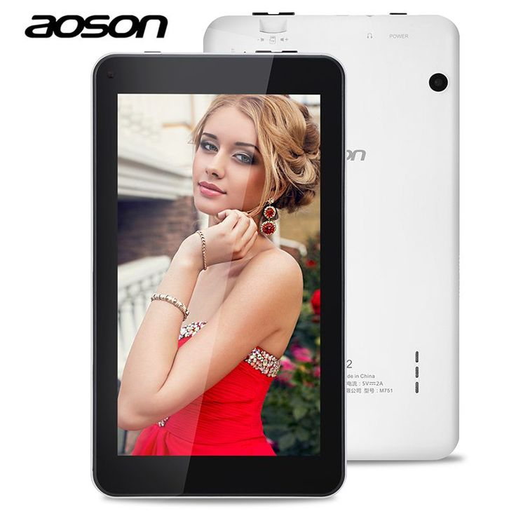 Brand Aoson M751 7 inch PC Tablets 1GB 8GB HD IPS Android 5.1 Quad Core Dual Cameras Bluetooth G-sensor WIFI Tablets PC //Price: $59.88//     #storecharger