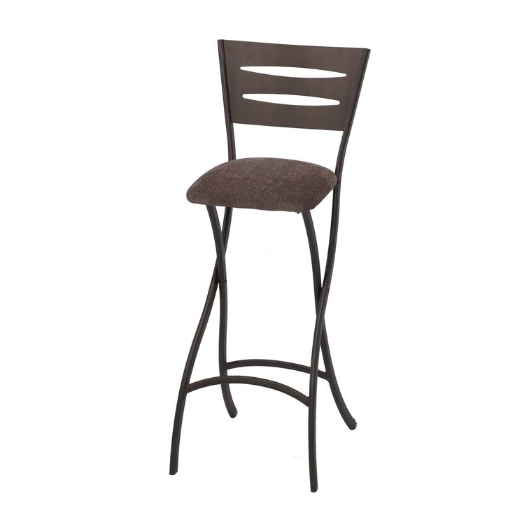 innobella destiny folding bar stool in cinnabar 2 pack