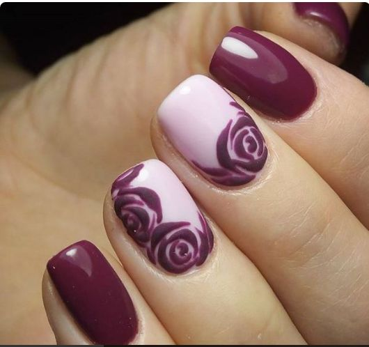 Burgundy Nail Color Ideas The Best Inspiration For Design And