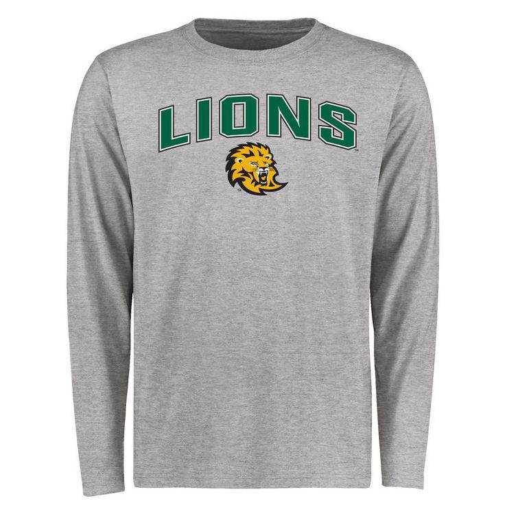 Southeastern Louisiana Lions Proud Mascot Long Sleeve T-Shirt - Ash