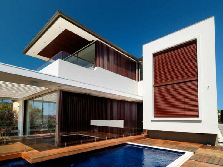 euryalus street house by luigi rosselli architects in australia - Architectural Design Homes