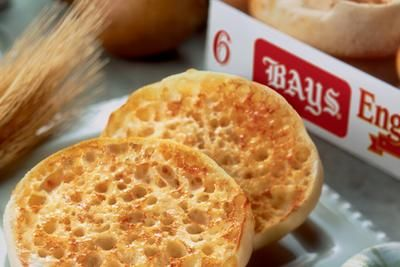 """Bays English Muffins for Breakfast - Quality AND Flavor   Everyone has their favorite """"WAYS"""" to enjoy the delicious taste of BAYS English Muffins. BAYS signature taste has been enjoyed thousands of different ways over the years.  From classic breakfast and brunch dishes to melts, pizzas, paninis and """"smashes,""""  we're excited to share our ideas with you.  #IFBC2015"""