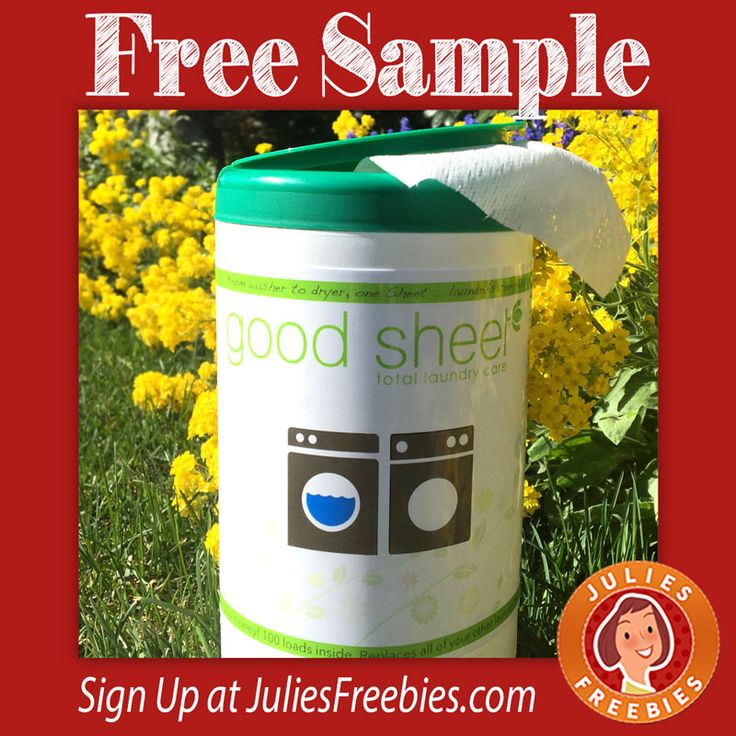 Free Good Sheet Total Laundry Care Sample Free - sample sign up sheet