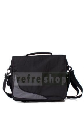 Desain yang sederhana memang di sematkan untuk tas sekolah ini. Terdapat dua kain yang berbeda warna di bagian depan bertujuan agar tas tidak terlihat monoton. Tas dengan kode TSL1 ini bisa juga di pakai untuk tas seminar, tas sekolah atau tas pelatihan.