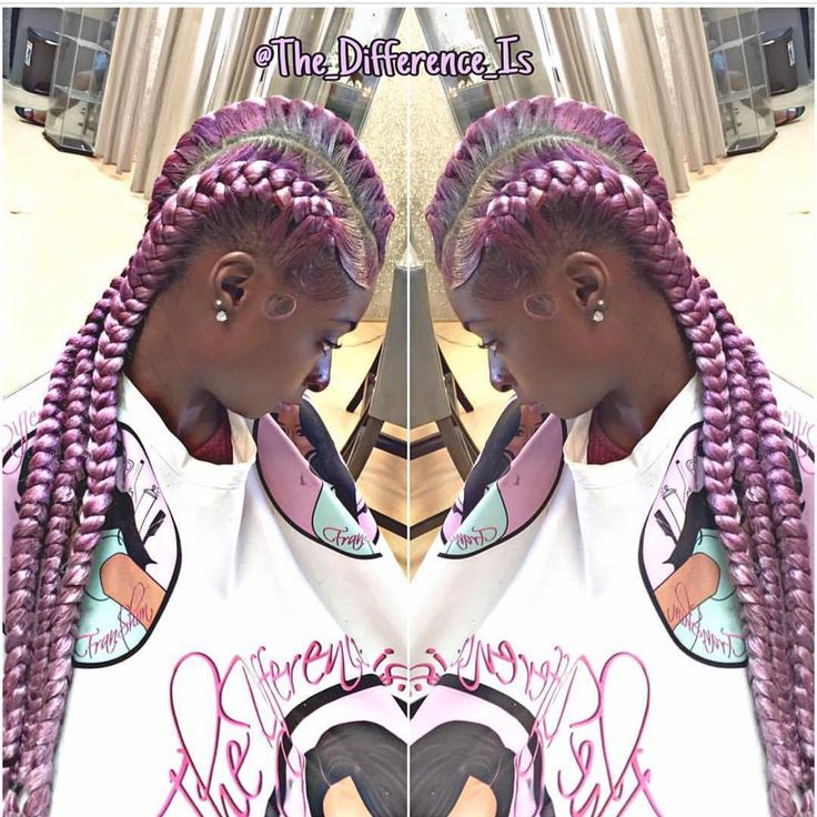 """Custom Color 3-Goddess Braids straight back... Book your next appt today by clicking the link in my Bio to schedule. #CustomColor #Purple #goddessbraids #TheDifference THE RESULTS ❌NO GEL ❌NO RELAXER NEEDED ❌NO EDGE CONTROL """"Must Supply your own hair"""" Get your's now exclusively from The Difference Is... #thedifference #thedifferenceis # #atlhair #atlantahair #Atlhairsalon #goddessbraids #underbraids #braids #goddesses #goddessbraid #braid #atlhairstylist #Atlantasalon #B..."""