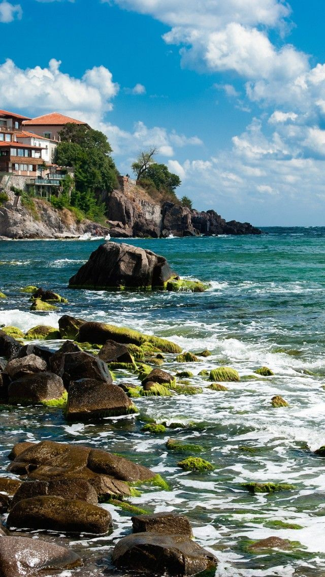 ~ Black Sea Coast , Sozopol ~ #Travel #Bulgaria