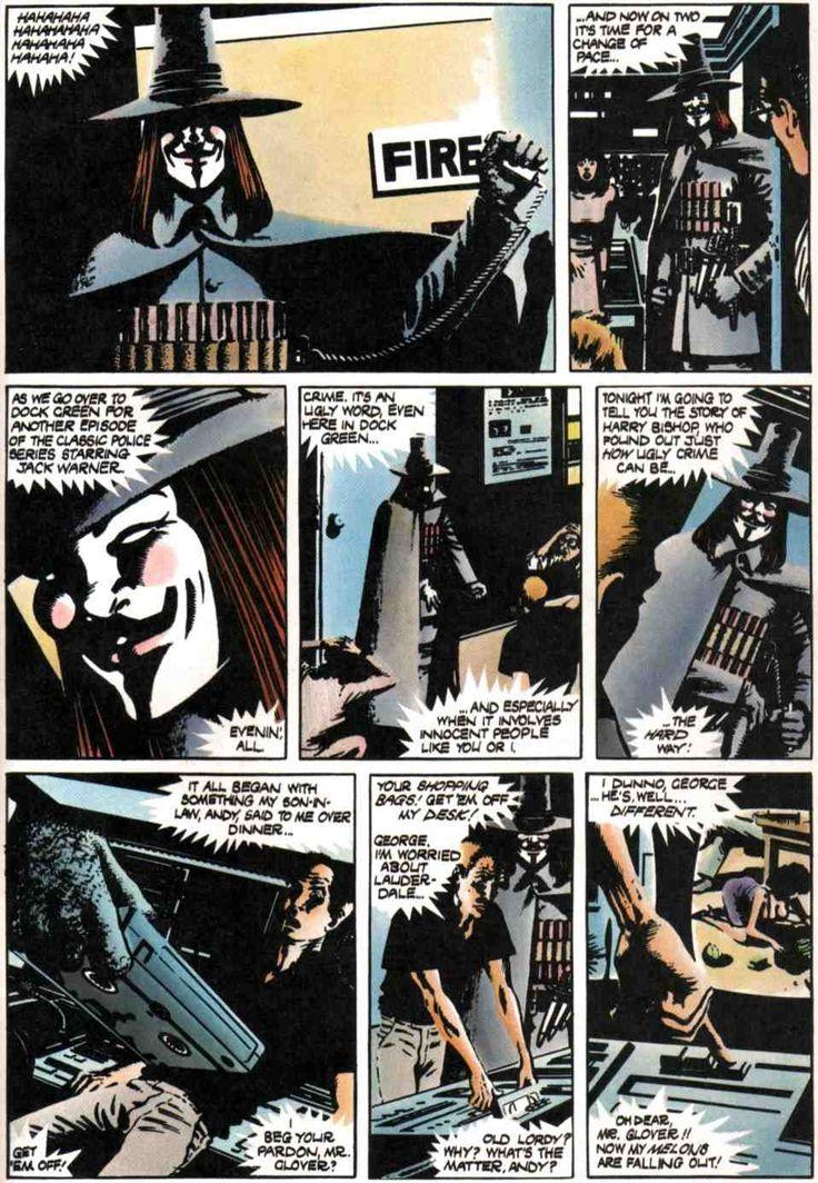 v for vendetta graphic novels Find great deals on ebay for v vendetta graphic shop with confidence.