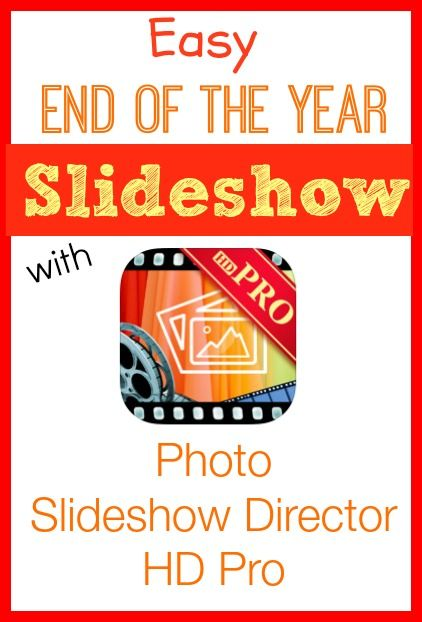 Create Easy Picture Slideshows for End of the School Year or Graduation