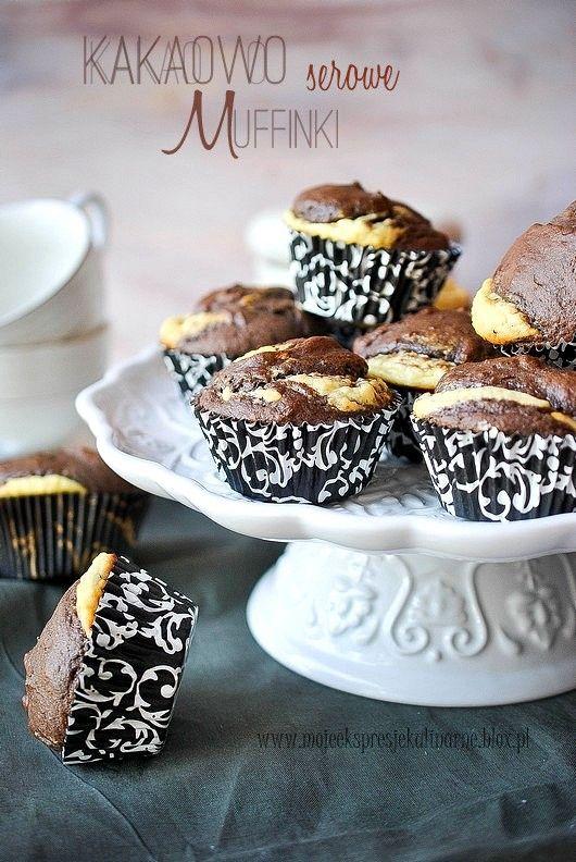 Kakaowo serowe muffinki