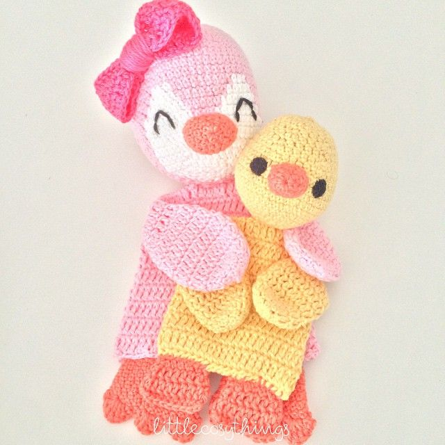 littlecosythings crochet rag doll blankies