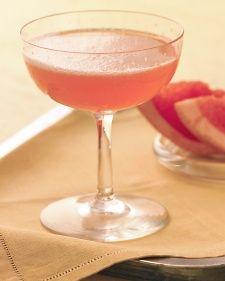 A twist on Mimosas. Instead of using orange juice, use grapefruit juice.