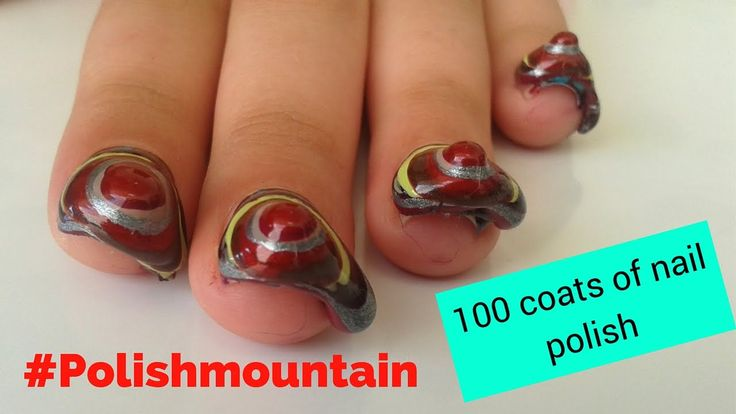 100 coats of nail polish  fail challenge I Mirtoolini http://youtu.be/kS3tUmdSxIo #mirtoulini29