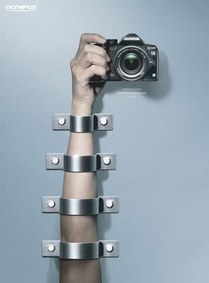 Olympus, anti-handshake #advertisement #creativity #photo