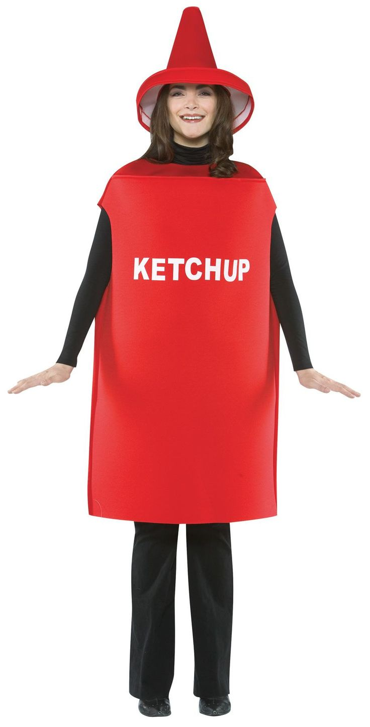 Ketchup Costume Adult