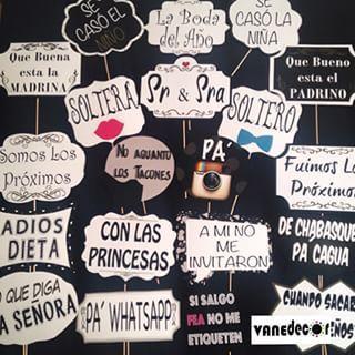 Photobooth props Spanish