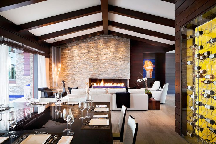 9 Best Images About Asymmetrical Fireplace On Pinterest