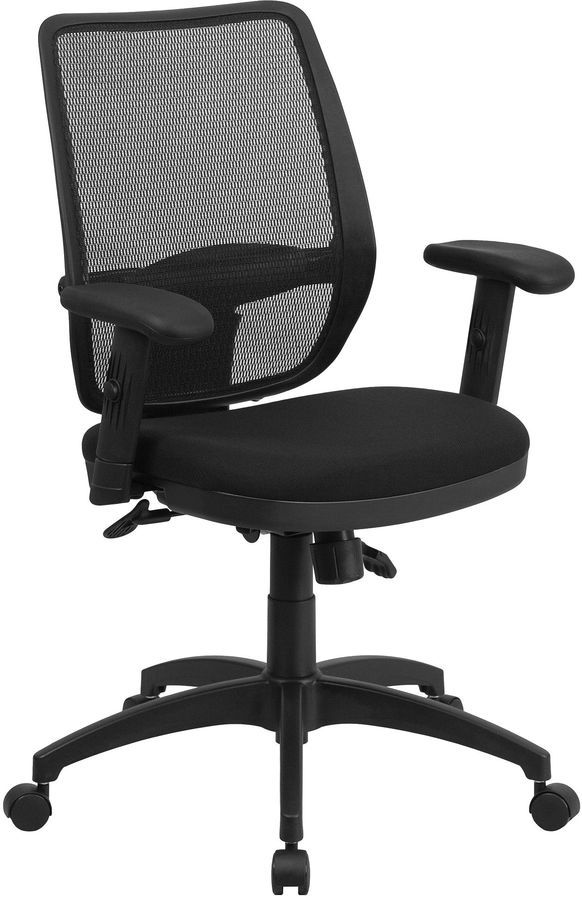 asstd national brand contemporary mid back office chair products rh pinterest co uk