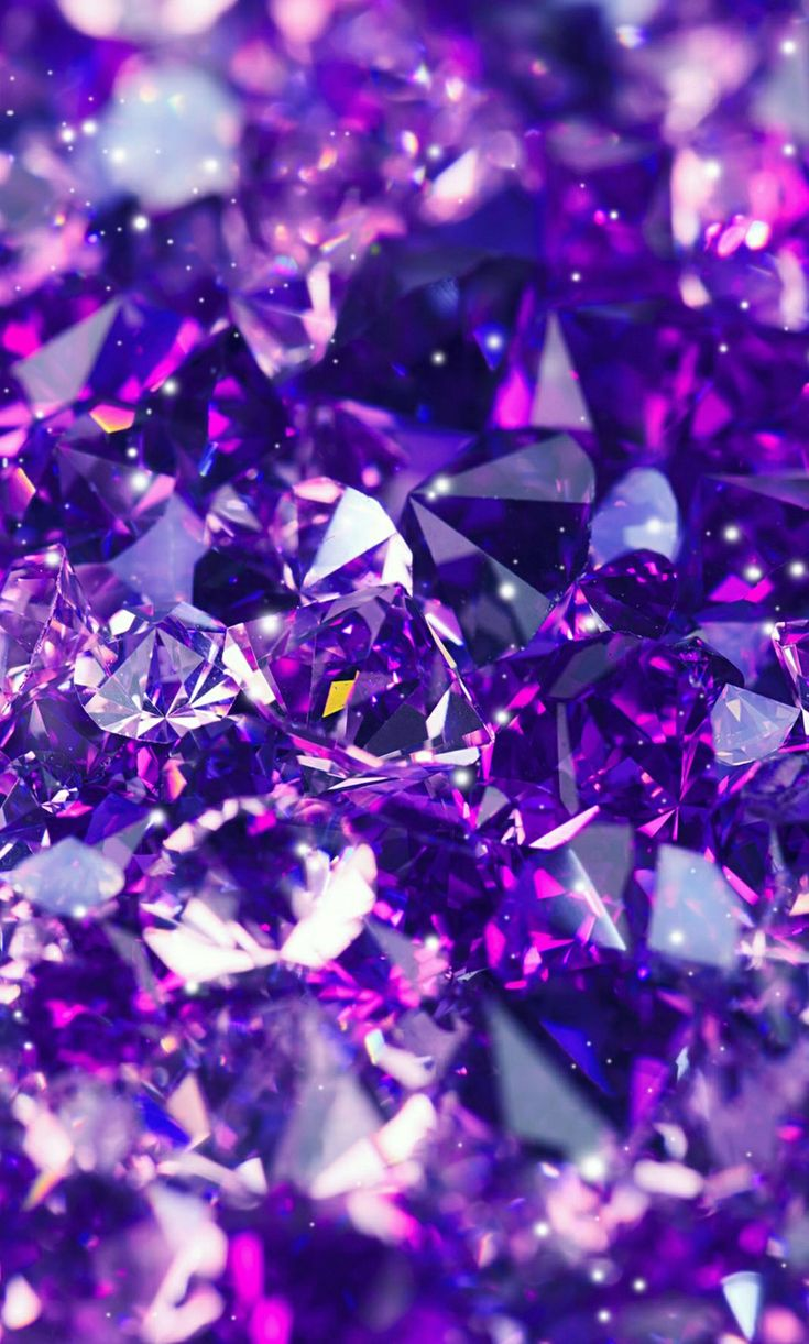 Preciosas joyas moradas | Gorgeous purple gems - #púrpura #violeta #violet #fondos #backgrounds #wallpapers #brillante #sparkly #bonito #lindo #pretty