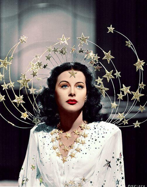 Hedy Lamarr as a Ziegfeld Girl, via Flickr