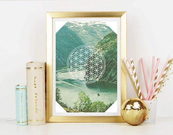 Vintage Inspired Flower of Life Free Spirit   Home by CRCases