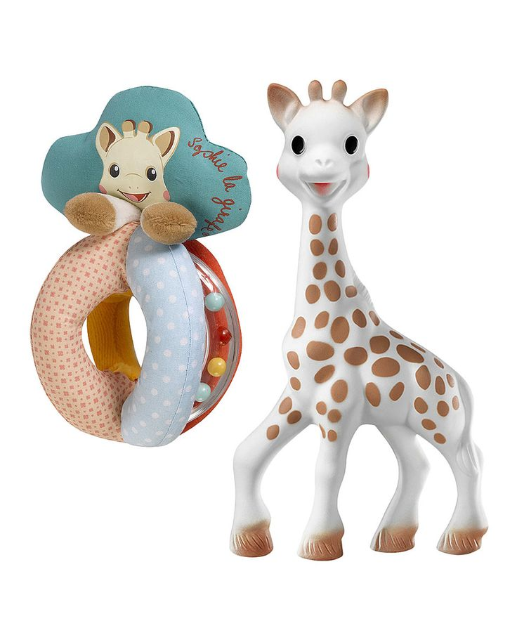 Take a look at this Sophie Giraffe Teether & Rattle Set today!
