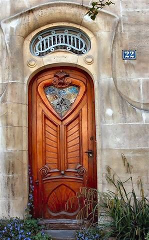 great doorArt Nouveau, Front Doors, Beautiful Doors, Unusual Doors, Entrance Doors, New Doors, Wooden Doors, Doors Art, Wood Doors