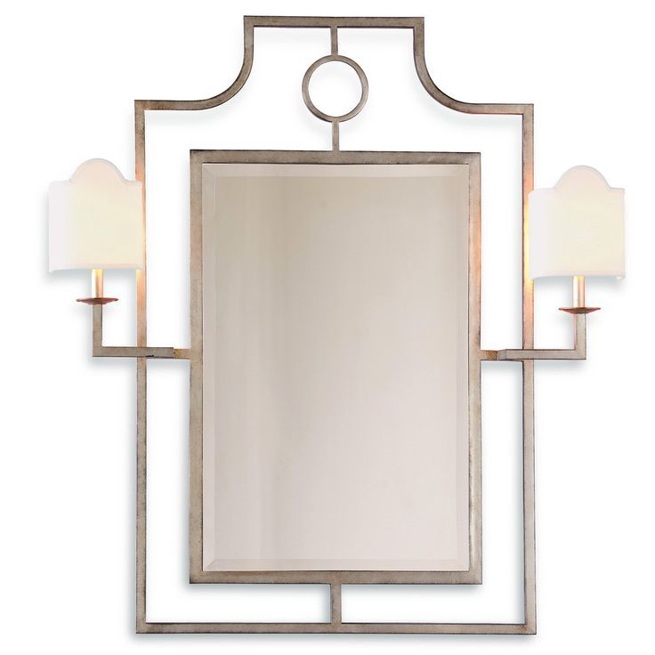 Image result for silver bamboo mirror