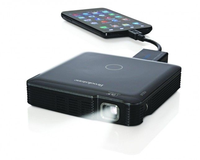How cool is this pocket projector?